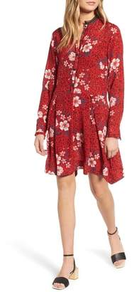 Zadig & Voltaire Ruti Pensee Double Floral Silk Dress