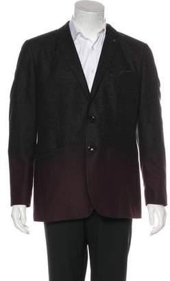 Ted Baker Gradient Wool-Blend Blazer
