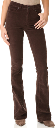 PAIGE High Rise Bell Canyon Pants $189 thestylecure.com