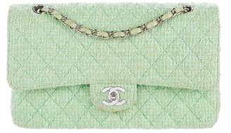 Chanel Tweed Classic Medium Double Flap Bag