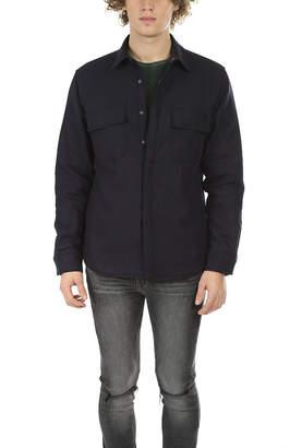 Frame Denim Quilted Shirt Jacket