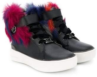 Michael Kors Kids Maven Kick hi-top sneakers