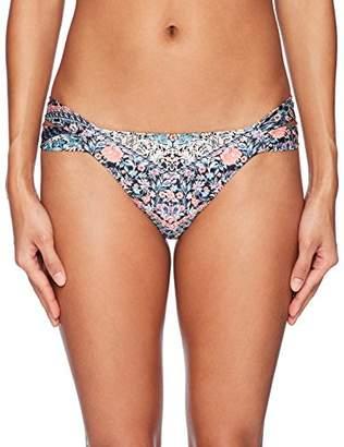O'Neill Women's Porter Tab Side Bikini Bottom Swimsuit,XL