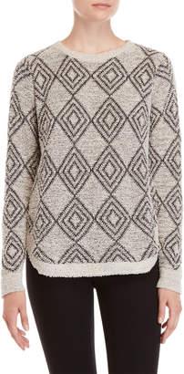 Absolutely By Creative Worldwide Diamond Pattern Sweater