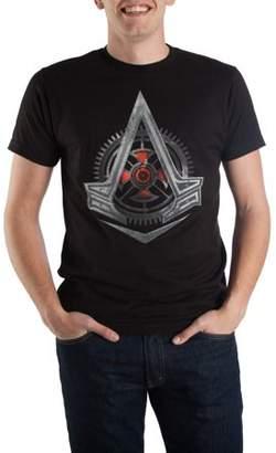 Gaming Big Men's Black Assassin's Creed Logo T-shirt