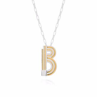 Yasmin Everley Jewellery Saxony B Initial Necklace