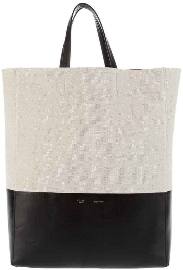 Céline leather shopper