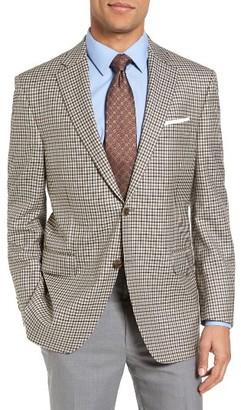 Men's Peter Millar Classic Fit Check Wool Sport Coat $695 thestylecure.com