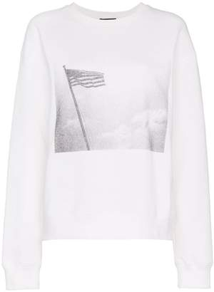 Calvin Klein x Andy Warhol Foundation American Flag Terry Sweatshirt