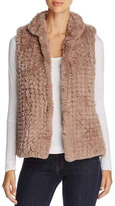 Bagatelle Knit Faux-Fur Vest
