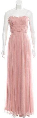 Vera Wang Strapless Evening Dress $225 thestylecure.com