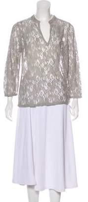 Calypso Lace Long Sleeve Blouse