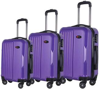 Brio Luggage 1701 Hard Side Spinner Set