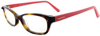 Valentino Women's Oval 52Mm Optical Frames