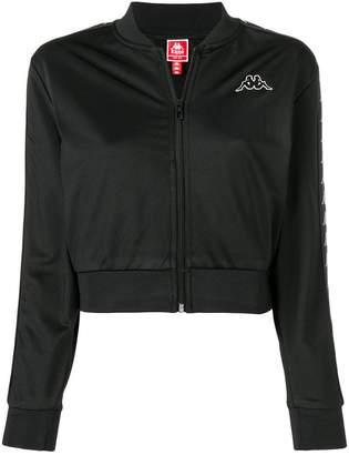 Kappa logo bomber jacket