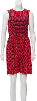 Marc by Marc Jacobs Heart Print Silk Dress Red Heart Print Silk Dress