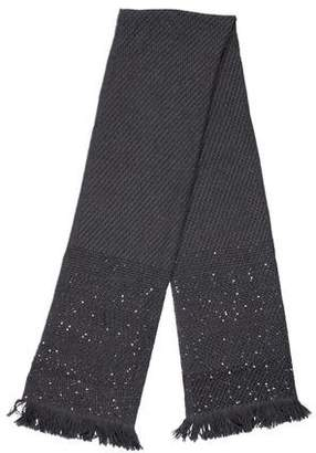 Wolford Sequined Wool Scarf w/ Tags