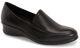 ECCO 'Felicia' Wedge Loafer (Women) $119.95 thestylecure.com