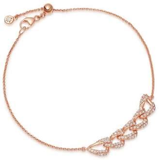 Astley Clarke Rose Gold Mini Vela Diamond Bracelet