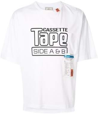Puma Maison Yasuhiro 'Cassette Tape' print T-shirt