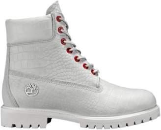 "Timberland 6"" Boot White Serpent"