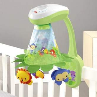 Fisher-Price Hti Toys Rainforest Grow With Me Projection Mobile