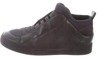 3.1 Phillip Lim Leather Mid-Top Sneakers