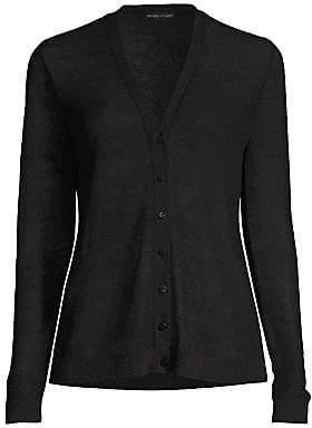 Eileen Fisher Women's Fine Organic Linen-Blend Cardigan
