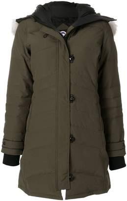 Canada Goose fur-trim padded coat