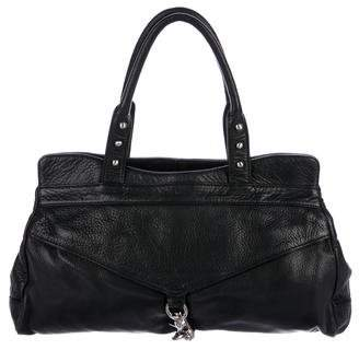 Botkier Grained Leather Handle Bag