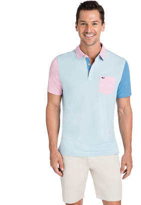 Vineyard Vines Party Feeder Stripe Edgartown Polo