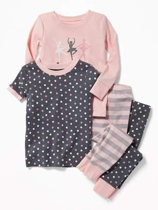 Old Navy Ballerina 4-Piece Sleep Set for Toddler Girls & Baby