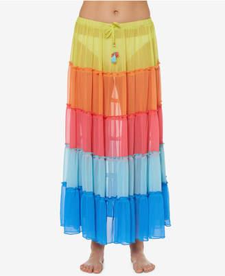 Bleu by Rod Beattie Long Skirt Cover-Up Women's Swimsuit