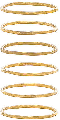 Mimi & Lu Stackable 6 Ring Set