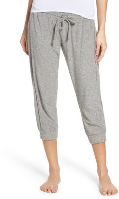 Women's Chaser Crop Lounge Pants $90 thestylecure.com