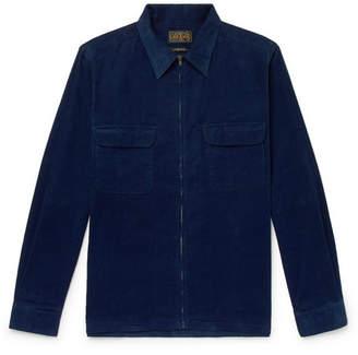 Beams Cotton-Corduroy Shirt Jacket