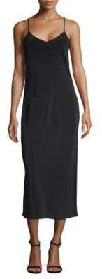 Leo & Sage Silk Midi Slip Dress