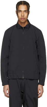 Attachment Black Track Jacket $765 thestylecure.com