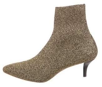 Loeffler Randall Metallic Ankle Boots
