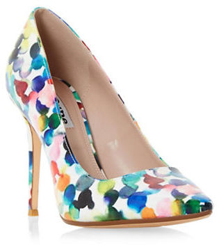 Dune London Blosome Patent Faux Leather Pumps $120 thestylecure.com