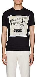 DSQUARED2 Men's Graphic-Print Cotton Jersey T-Shirt-Black Size S