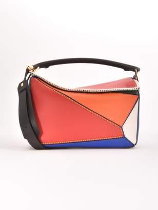 Loewe Puzzle Patchwork Bag Multicolor