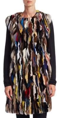 The Fur Salon Mink Vest