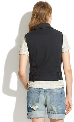Madewell Cotton Tour Vest