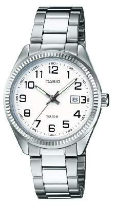 Casio Women's Analogue Quartz Watch with Stainless Steel Bracelet LTP-1302PD-7BVEF