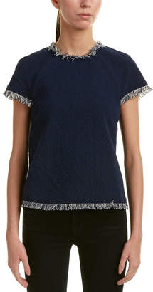 Moon River Frayed Top