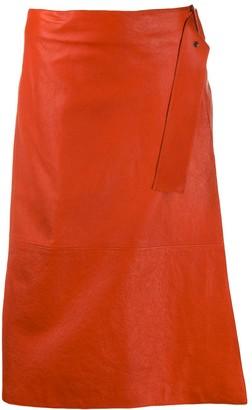 Luisa Cerano A-line midi skirt