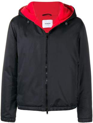 Dondup hooded zipped jacket