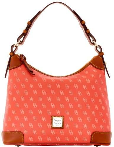 Dooney & Bourke Gretta Hobo Shoulder Bag - ORANGE PEACH - STYLE