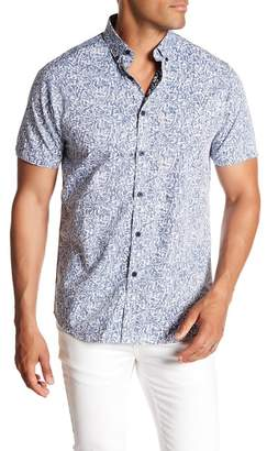 Micros Short Sleeve Button Down Shirt